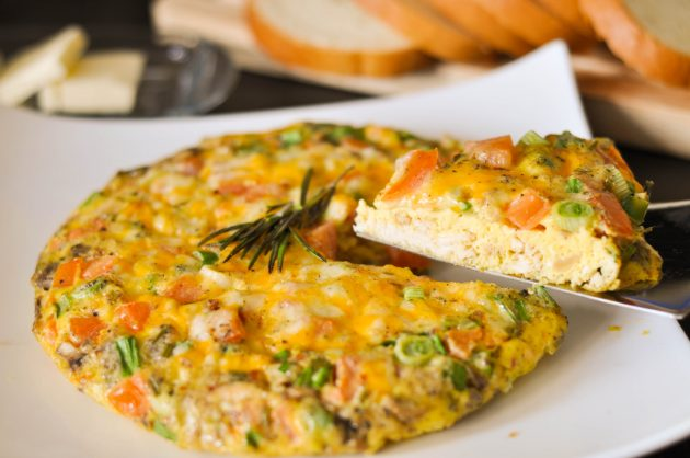 Фриттата - полезный завтрак