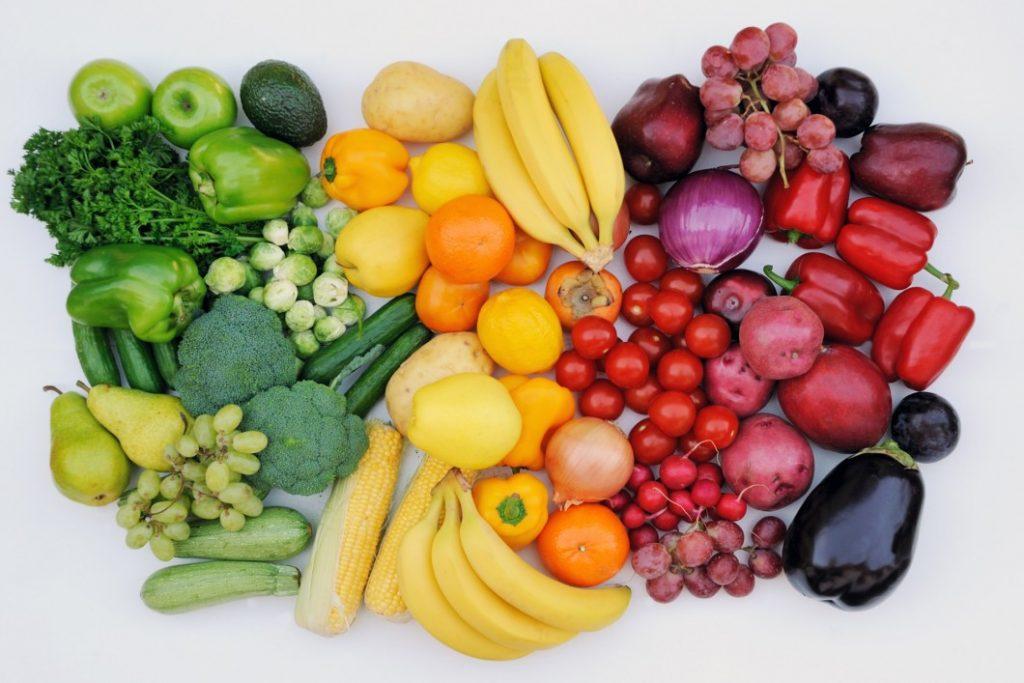 С чего начать правильное питание - овощи и фрукты